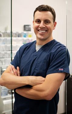 Dr Colin Pederson, a dentist at Maynard Family Dentists